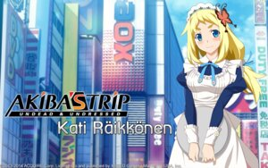Rating: Questionable Score: 19 Tags: acquire_corp akiba's_trip kati_räikkönen maid wallpaper watanabe_akio User: fly24