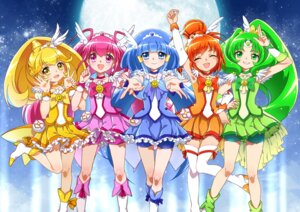 Rating: Questionable Score: 13 Tags: bike_shorts hoshi_(xingspresent) pretty_cure smile_precure! thighhighs User: hoshinox174