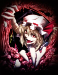 Rating: Questionable Score: 24 Tags: flandre_scarlet guro imizu touhou User: nine-ball