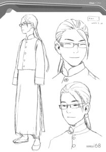 Rating: Safe Score: 2 Tags: chan_(shangri-la) character_design male monochrome range_murata shangri-la sketch User: Share