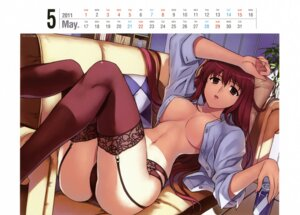 Rating: Questionable Score: 61 Tags: calendar cleavage freezing garter_belt ingrid_vernstein kim_kwang-hyun no_bra open_shirt pantsu stockings thighhighs User: YamatoBomber