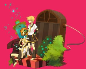 Rating: Safe Score: 4 Tags: kagamine_len kagamine_rin loo vocaloid User: yumichi-sama
