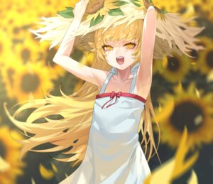 Rating: Safe Score: 21 Tags: bakemonogatari dress oshino_shinobu ssangbong-llama summer_dress User: Dreista