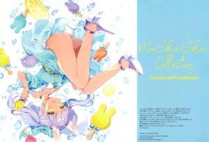 Rating: Questionable Score: 31 Tags: ass dress heels skirt_lift w.label wasabi_(artist) User: Nepcoheart