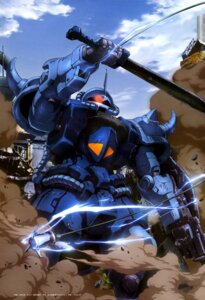 Rating: Questionable Score: 8 Tags: gouf_custom gundam the_08th_ms_team User: drop