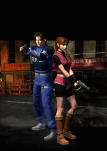 Rating: Safe Score: 3 Tags: cg clair_redfield leon_kennedy resident_evil User: Radioactive