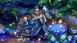 Rating: Safe Score: 31 Tags: kimono kirino_kasumu suishou_shizuku wallpaper User: yong