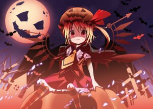 Rating: Safe Score: 19 Tags: bell_(satappe) flandre_scarlet halloween touhou wings User: charunetra