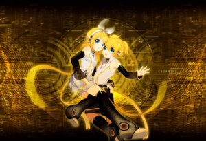 Rating: Safe Score: 17 Tags: headphones kagamine_len kagamine_rin kaze-hime len_append rin_append vocaloid vocaloid_append User: charunetra
