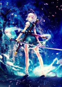 Rating: Safe Score: 34 Tags: konpaku_youmu renon_(artist) sword touhou User: lichtzhang