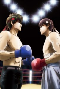 Rating: Safe Score: 5 Tags: gintama hijikata_toushirou male shimura_shinpachi tagme User: tamashii_kun