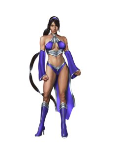 Rating: Questionable Score: 9 Tags: bikini_armor cleavage heels kitana mortal_kombat User: Yokaiou