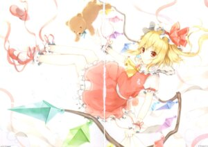 Rating: Safe Score: 4 Tags: 6u crease flandre_scarlet touhou wings User: Radioactive