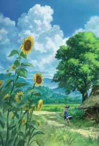 Rating: Safe Score: 21 Tags: cirno dress landscape sasaj touhou wings User: charunetra