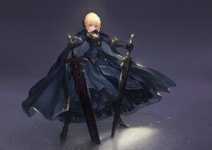 Rating: Questionable Score: 22 Tags: fate/grand_order heels saber saber_alter sword tachikawa_mushimaro User: Dreista