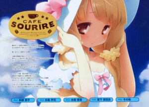 Rating: Safe Score: 34 Tags: cafe_sourire cuffs dress gayarou ogiwara_kyouko summer_dress User: Kalafina