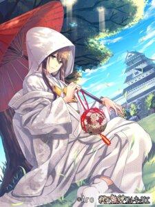 Rating: Safe Score: 28 Tags: beniimo_danshaku kimono sengoku_kishin_valkyrie umbrella User: mash