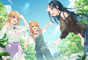 Rating: Questionable Score: 20 Tags: bekotarou bra no_bra overalls see_through sweater wet wet_clothes User: Innominate