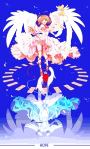 Rating: Safe Score: 23 Tags: card_captor_sakura chima garter kerberos kinomoto_sakura wings User: animeprincess