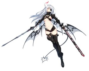 Rating: Questionable Score: 28 Tags: armor bai_winchester closers eyepatch horns no_bra sword tagme tail thighhighs wings User: Nepcoheart