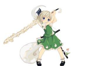 Rating: Safe Score: 23 Tags: konpaku_youmu sakuraba_hikaru sword touhou User: itsu-chan