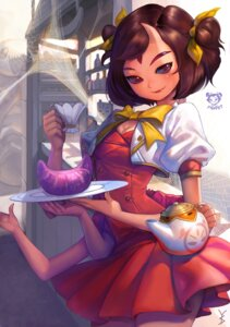 Rating: Safe Score: 15 Tags: dress gd_choco monster_girl muffet undertale User: Radioactive