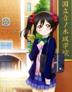 Rating: Safe Score: 79 Tags: headphones love_live! murota_yuuhei seifuku yazawa_nico User: drop