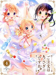 Rating: Safe Score: 73 Tags: disc_cover dress gochuumon_wa_usagi_desu_ka? hoto_cocoa kirima_sharo koi ujimatsu_chiya User: Twinsenzw
