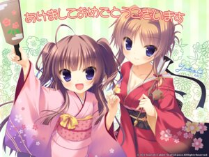 Rating: Safe Score: 52 Tags: hinamidori_chiwa kimono pochi_to_goshujin-sama skyfish_poco wallpaper yukie User: van
