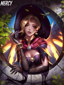 Rating: Safe Score: 54 Tags: cleavage liang_xing mercy_(overwatch) overwatch wings witch User: Mr_GT