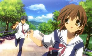 Rating: Safe Score: 17 Tags: clannad clannad_after_story furukawa_nagisa kawanami_eisaku okazaki_tomoya seifuku User: Share