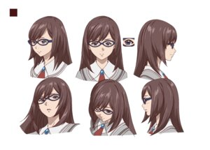 Rating: Safe Score: 4 Tags: akanesasu_shoujo character_design expression megane seifuku tounaka_yuu User: saemonnokami