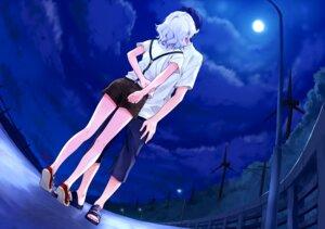 Rating: Safe Score: 32 Tags: abhar deep_blue_sky_&_pure_white_wings game_cg hanami_mar'ya misaki_kurehito User: petopeto