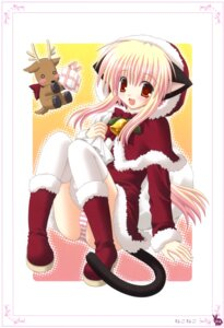 Rating: Questionable Score: 29 Tags: animal_ears christmas nekomimi nekoneko pantsu tail User: crim