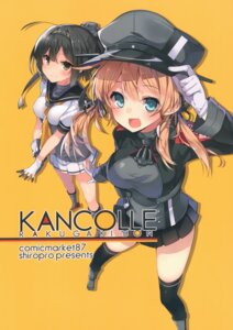 Rating: Safe Score: 18 Tags: akizuki_(kancolle) kantai_collection mishima_kurone prinz_eugen_(kancolle) seifuku thighhighs uniform User: kiyoe