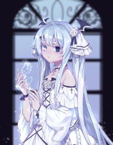 Rating: Safe Score: 26 Tags: 99ebifurai dress gothic_lolita heterochromia horns lolita_fashion User: sym455