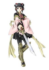 Rating: Safe Score: 7 Tags: armor fujita_kaori japanese_clothes lyon pantyhose suikoden suikoden_v User: Radioactive