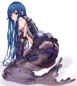 Rating: Safe Score: 82 Tags: mecha_musume mermaid saitom topless User: Radioactive