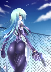 Rating: Questionable Score: 46 Tags: ass bodysuit gun nanakorobi_yaoki User: Kaixa