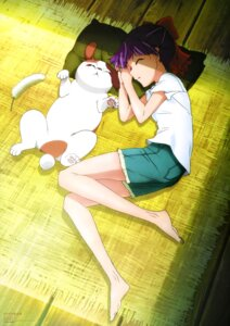 Rating: Safe Score: 29 Tags: feet gegege_no_kitaro neko_musume shimizu_sorato User: drop