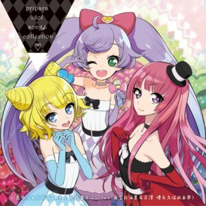 Rating: Safe Score: 8 Tags: disc_cover dress houjou_sophie manaka_lala minami_mirei pripara User: blooregardo
