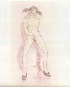 Rating: Explicit Score: 10 Tags: heels naked nipples pee pussy tajima_shouu User: Umbigo