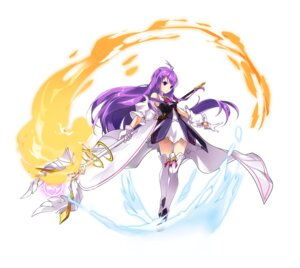Rating: Safe Score: 16 Tags: aisha_(elsword) dress elsword kiwishake thighhighs weapon User: Nepcoheart