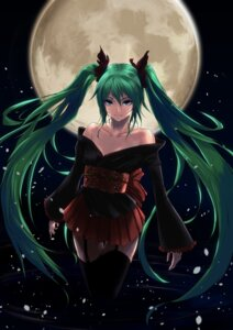 Rating: Safe Score: 60 Tags: din_(raiden) hatsune_miku stockings thighhighs vocaloid User: Alfakroll
