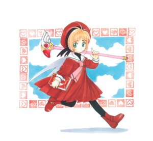 Rating: Safe Score: 3 Tags: card_captor_sakura clamp kinomoto_sakura seifuku weapon User: Omgix