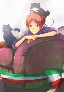 Rating: Safe Score: 3 Tags: hetalia_axis_powers male neko north_italy zxs1103 User: charunetra