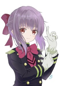 Rating: Questionable Score: 32 Tags: hiiragi_shinoa l4no-shiro owari_no_seraph seifuku User: L4No