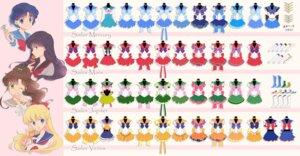 Rating: Safe Score: 10 Tags: aino_minako character_design heels hino_rei kino_makoto mizuno_ami sailor_moon saki_(hxaxcxk) seifuku weapon User: charunetra