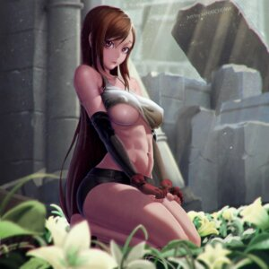 Rating: Questionable Score: 65 Tags: erect_nipples final_fantasy final_fantasy_vii no_bra shirt_lift tifa_lockhart underboob xxnikichenxx User: sylver650