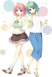 Rating: Safe Score: 21 Tags: heels kitaooji_karen making_*_lovers see_through smee takanashi_ako taniyama-san User: moonian
